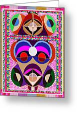African Art Style Mascot Wizard Magic Comedy Comic Humor  Navinjoshi Rights Managed Images Clawn    Greeting Card by Navin Joshi