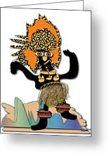 African Dancer 6 Greeting Card