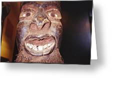 African Devil Greeting Card