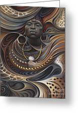 African Spirits I Greeting Card