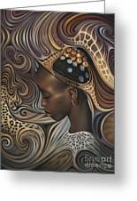African Spirits II Greeting Card