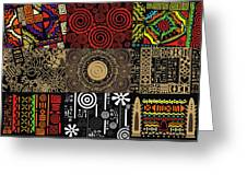 Afroecletic II Greeting Card
