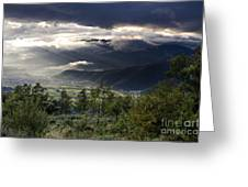 After A Pyrenean Storm 1 Greeting Card