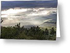 After A Pyrenean Storm Greeting Card by Michael David Murphy