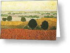 After Harvest Greeting Card