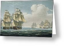 After The Battle Of Trafalgar Greeting Card