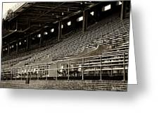 After The Game - Franklin Field Philadelphia Greeting Card