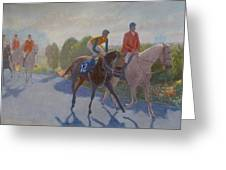 After The Race Greeting Card