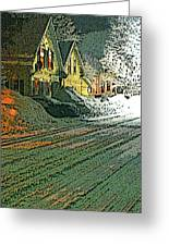 After The Snow - One Greeting Card