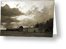 After The Storm On The Farm Greeting Card