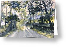 After The Storm On Woldgate Greeting Card