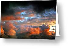 After Tornado Skyscape Greeting Card