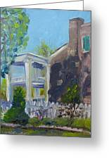 Afternoon At Carnton Plantation Greeting Card by Susan E Jones