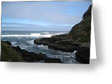Afternoon At Devil's Churn Greeting Card