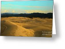 Afternoon At Oregon Dunes Greeting Card