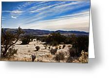 Afternoon At Red Rock Greeting Card