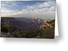 Afternoon At The Canyon Greeting Card