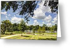 Afternoon At The Park Greeting Card