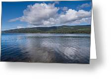 Afternoon Clouds Over Big Lagoon Greeting Card