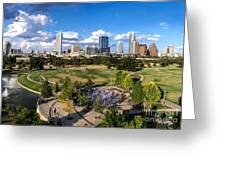 Afternoon In Austin Greeting Card