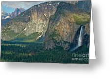 Afternoon In Yosemite Greeting Card