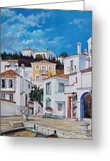Afternoon Light In Montenegro Greeting Card