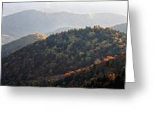Afternoon On The Mountain Greeting Card