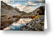 Afternoon Reflections Greeting Card