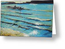 Afternoon Shoreline Greeting Card