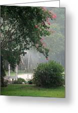 Afternoon Showers Greeting Card