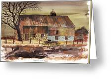 Afternoon Storm Passed Greeting Card