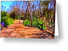 Afternoon Walk Greeting Card