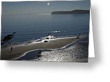 Against The Light - Compton Bay Greeting Card