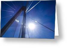 Against The Sun Greeting Card