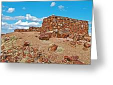 Agate House In Petrified Forest National Park-arizona  Greeting Card