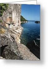Agawa Pictographs Greeting Card