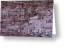 Aged Wood Greeting Card