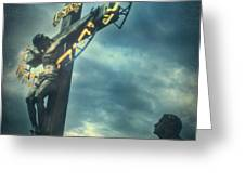 Agfacolor Jesus Greeting Card