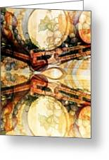 Aging Barrels Greeting Card by PainterArtist FIN