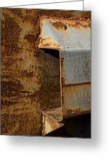 Aging With Rust Greeting Card