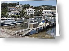 Agios Stefanos Corfu Greeting Card
