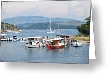 Agios Stefanos Greeting Card
