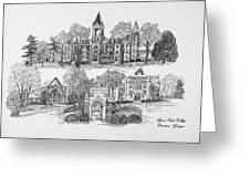 Agnes Scott College Greeting Card