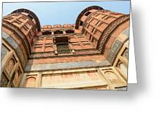 Agra Fort In India Greeting Card