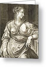 Agrippina Wife Of Tiberius Greeting Card