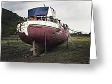 Aground Greeting Card