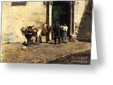 Aguadeiro Espanthol Greeting Card