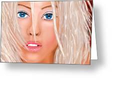 Aguilera Beautiful Greeting Card