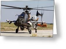 Ah-64d Apache Longbow Of The Royal Greeting Card