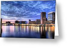 Ah Baltimore Greeting Card by JC Findley
